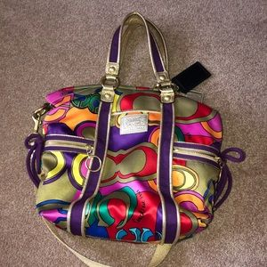 Limited edition poppy coach bag